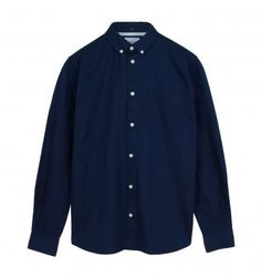 NORSE PROJECTS 'ANTON' DENIM SHIRT. Indigo. £109.00