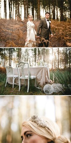 wooden chairs, all different styles, all painted white