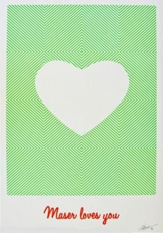 by Maser Limited Edition of 40 Screen Print 50″ x 70″