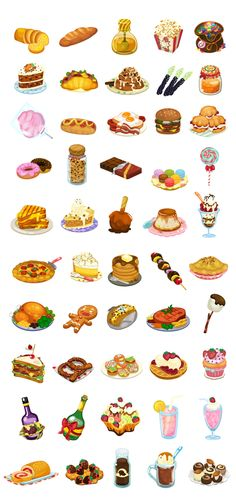 Delicious Food Items by Jin Sethanukul, via Behance - so lovely and delicious you want to cry !