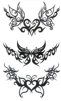 tribal tattoos. Maybe around arm/wrist?