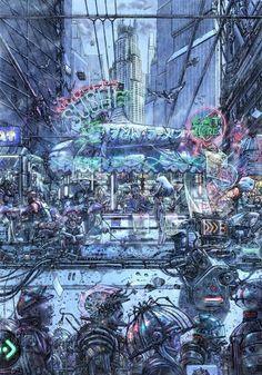 Very cyberpunk.