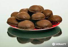 Lebkuchen - Csokis mézes puszedli szilvalekvárral Small Cake, Paleo, Lime, Beans, Baking, Vegetables, Fruit, Food, Limes
