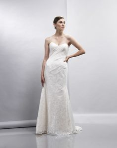 Elisha - Bridal Gown by Lis Simon (shown in Champagne)