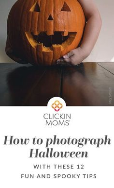 Photographing Halloween should be just as fun as it is to participate in. The Click Pros are offering their best Halloween photography tips! #halloween #photography #clickinmoms