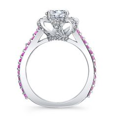 Barkev's Pink Sapphire Engagement Ring - 7958LPS
