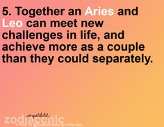 leo and aries relationship 2014 super