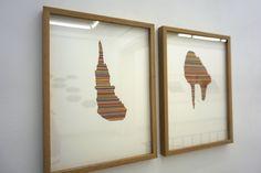 "María García Ibañez. Exposición ""Cóncavo"" Galería Paula Alonso. #Madrid. #Exposiciones #Arte #ArteContemporáneo #ContemporaryArt #Art #arterecord 2015 https://twitter.com/arterecord"