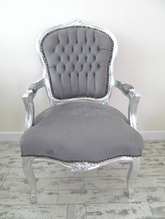 pictures of grey distressed shabby chic bedroom furniture | Used Chairs, Stools & Other Seating for Sale for sale in Monmouth ...