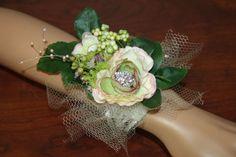 Wrist Corsage Prom Corsage Wedding Corsage by BeautyFullMall