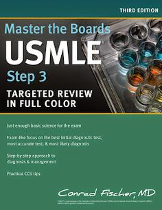 Master the Boards USMLE Step 3 by Conrad Fischer MD Targeted Step 3 in full color—updated for the 2015 exam change Fully updated to the 2015 exam Medicine Book, Fiction And Nonfiction, Price Book, Latest Books, Used Books, Ebook Pdf, Free Ebooks, Books Online, 3 Online