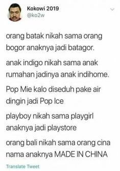 New quotes indonesia lucu hujan ideas Quotes Lucu, Quotes Galau, Jokes Quotes, New Quotes, True Quotes, Funny Quotes, Inspirational Quotes, Qoutes, Funny Tweets Twitter