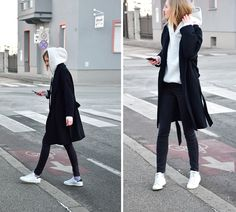 Street fashion inspo 45 Ideen Mode minimalistischen Winter Stan Smith The Uses Of Leather In ancient Winter Fashion Outfits, Look Fashion, Stylish Outfits, Trendy Fashion, Winter Outfits, Urban Style Outfits, Pretty Outfits, Fashion Ideas, Robes Vintage