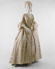 Robe à la Française 1770s The Metropolitan Museum of Art