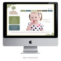 Emily McCarthy Branding | Canton Pediatric Dentistry Custom Website