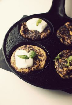 Carrotpattys with feta and mint  //Ruokahommia