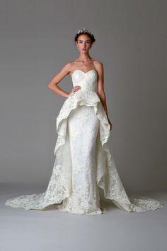 Самые красивые платья с Недели свадебной моды-2016 / Мода / Марафет