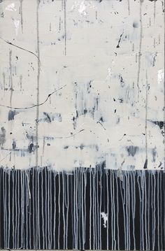 Blanca - Abstract, Large, Beautiful, Painting, Modern, Acrylic, White, Greenish Blue, Silver, Glitter, Contemporary, Texture, Layered, Art