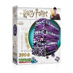 Harry Potter - The Knight Bus Puzzle. Title Harry Potter - The Knight Bus Puzzle. Star Citizen, Puzzle Mania, Harry Potter Games Online, Collection Harry Potter, 3d Jigsaw Puzzles, Prisoner Of Azkaban, Memorable Gifts, Puzzle Pieces, Knight