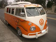 T1 VW Westfalia bus vintage