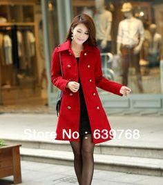 2013 foreign trade double breasted wool coat windbreaker choke a small chilli women outside-in Wool & Blends from Apparel & Accessories on A...