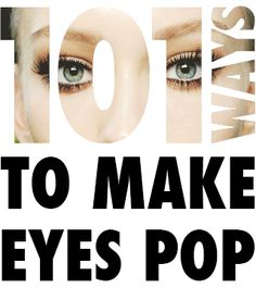 "101 Ways To Make Your Eyes Pop - Daily Makeover ""Remember that brows are sisters, not twins, so no amount of plucking will ever make them identical. All Things Beauty, Beauty Make Up, Diy Beauty, Beauty Hacks, Make Eyes Pop, Eye Make Up, Kiss Makeup, Hair Makeup, Make Up Tricks"