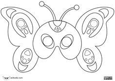 mascaras de cartulina - Buscar con Google