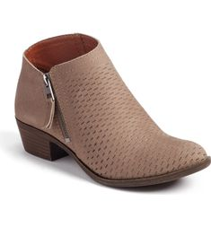 Main Image - Lucky Brand Brielley Perforated Bootie (Women)