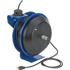 Coxreels PC Series Power Cord Reel - 50ft 12/3 Cord with Duplex Metal GFCI Receptacle Model# PC13-5012-F by Coxreels. $419.99. Heavy-duty Coxreels spring-driven power cord reel eliminates tangled extension cords and self-retracts to increase safety, productivity and efficiency! Easily wraps, stores and maintains electrical cord around tough steel reel. Designed for troublefree operation. U.S.A. Length (ft.): 50, Cord Size: 12 gauge, Amps: 20, Automatic Rewind: Yes, spring-d...