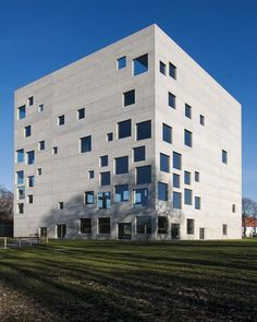 Zollverein School of Management and Design, Essen, Germany   Architecture by SANAA  
