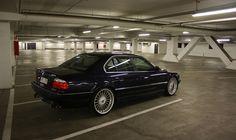 BMW 740i with 20 inch Alpina wheels