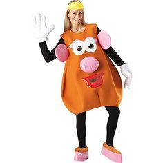 Licensed Ladies Mrs Potato Head Costume with fast delivery: Great deals on all Toy Story Costumes, Film Fancy Dress & Mr Potato Head Fancy Dress. Cartoon Costumes, Toy Story Costumes, Disney Costumes, Character Costumes, Adult Costumes, Panda Costumes, Top 10 Halloween Costumes, Toy Story Halloween, Halloween 2019