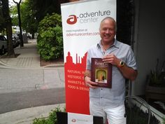 Talk travel fun with special guest Philip Beck of Adventure Center during the Lusso Verde & Friends, Paws For A Cause Fundraiser, Saturday, Aug 17, 2013 from 10am-7pm on South Granville!