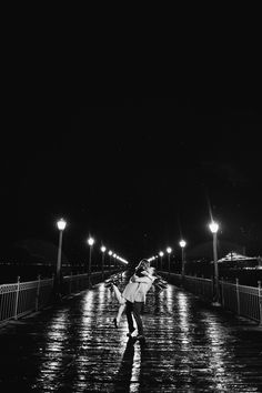 Did somebody want a La La Land engagement photo on a pier? I gotchu boo.