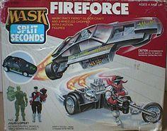 mask fireforce   Kenner MASK FIREFORCE BOX FRONT