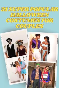 If you have no clue what couples costume you can wear this year don't worry, in this post we're going to show you 31 trendy Halloween costumes for couples. #halloween #halloweencostumes #halloweencouples Unique Couple Halloween Costumes, College Survival Guide, College Application, Funny Couples, Best Blogs, Good Grades, Blogging For Beginners