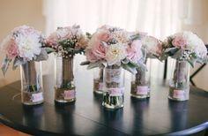 Blush and Grey wedding