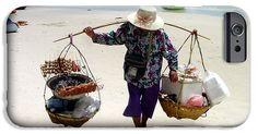 #Thai #Beach #Vendor #iPhone 6 #Case by Judi Saunders.