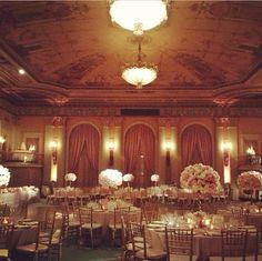Tick tock florals, fancy that events, millenium biltmore hotel