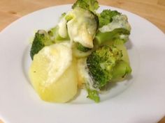 Receita de Batata com brócolis ao forno – #batata #brócolis #Forno #receita