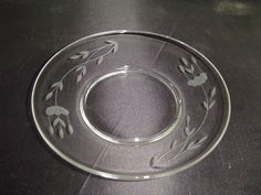 Princess House Crystal Heritage (#) Replacement Bread & Butter Plate (1) #PrincessHouseCrystal
