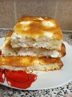 Savoury Baking, Savoury Pies, Greek Cooking, Greek Recipes, Sandwiches, Food And Drink, Appetizers, Breakfast, Pastries