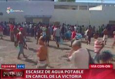 Escasez De Agua Potable En Cárcel De La Victoria #Video