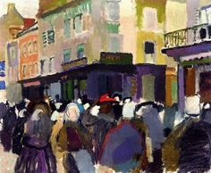 Raoul Dufy (French, 1877 - 1953) The Market at Falaise 1905 oil on canvas 45.7 x 54.6 cm Private collection