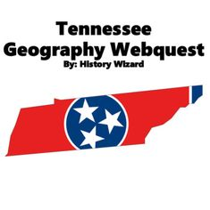 Tennessee Geography Webquest by History Wizard | TpT