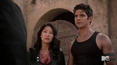 Kira and Scott Teen Wolf 4, Teen Wolf Cast, Teen Wolf Seasons, Season 4, Mona Lisa, Tank Man, It Cast, Image