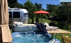 Airstream Rental Right Outside Of Asheville, NC Camping In Washington State, Utah Camping, Camping Resort, Florida Camping, Camping List, Camping Ideas, Camping Stuff, Camping Essentials, South Carolina