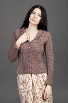 This might be my next sweater project...  Designed by Alice Starmore. This is one sweater, if I knit it, would not change one detail. Sublime.