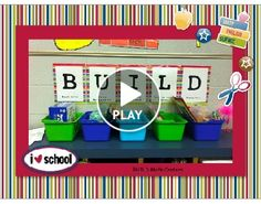BUILD - math centers in a 1st grade classroom. I also use BUILD to structure my 4th grade math workshop. Works great!