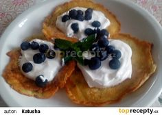 Cuketové lívanečky II recept - TopRecepty.cz Waffles, Pancakes, Breakfast, Food, Morning Coffee, Essen, Waffle, Pancake, Meals